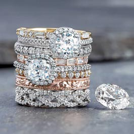 Stuller Rings at Andress Jewelry LLC
