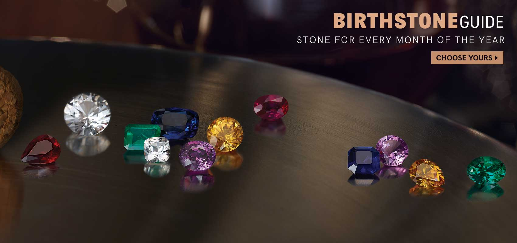 Birthstone Guide At Andress Jewelry In Saraland, AL